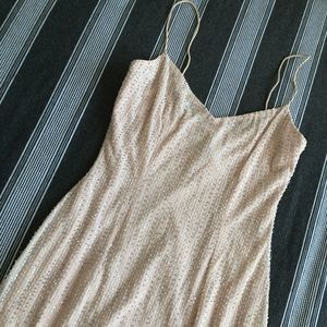 Laundry pink sequin bodycon dress